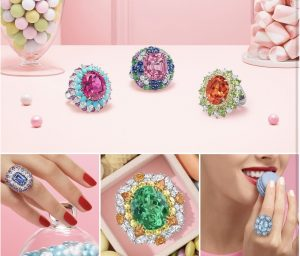 Harry Winston Candilicious rings