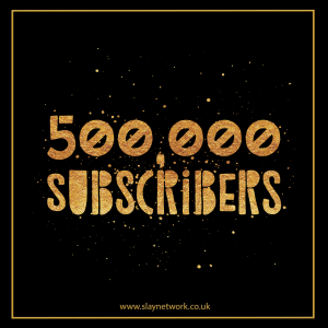 Slay Network releases its 500 K Subscribers milestone NFT