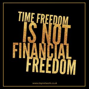 Aim for financial freedom not financial fanaticism