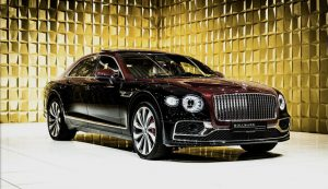 Duo tone Bentley Flying Spur V8 First Edition Customized FOR SALE