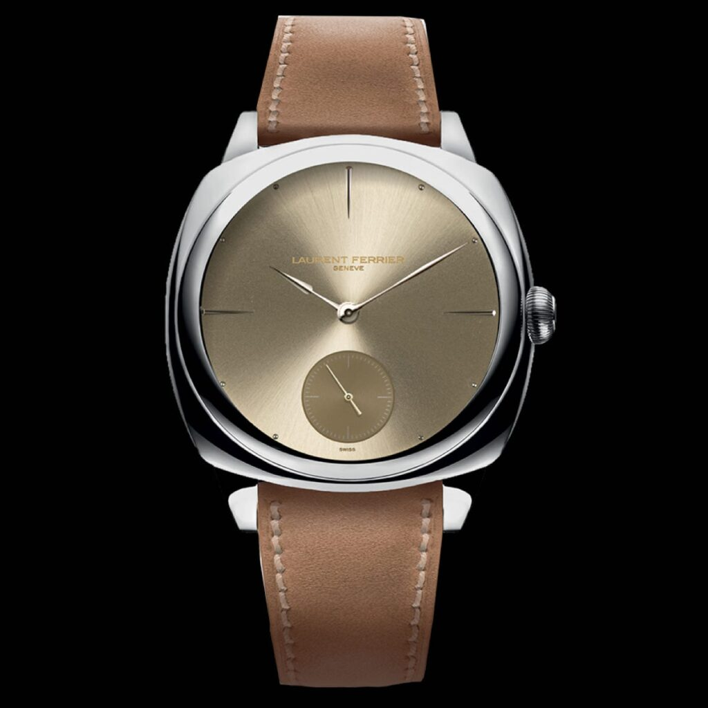 Laurent Ferrier SQUARE MICRO ROTOR – GOLD TONE DIAL WATCH