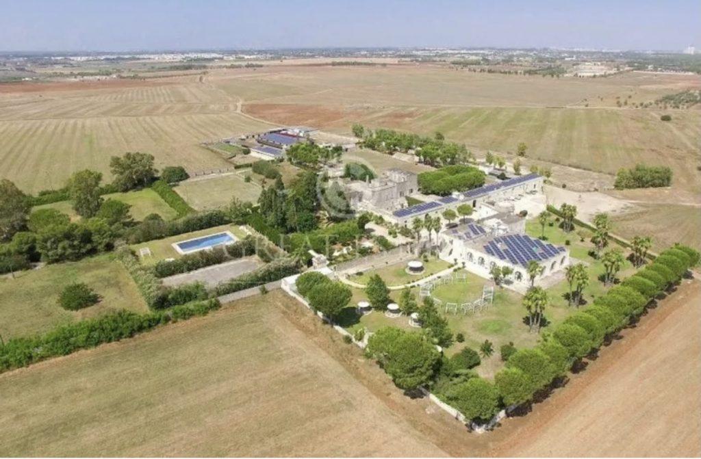 6 hectares plus rare mega estate  listing Italy FOR SALE