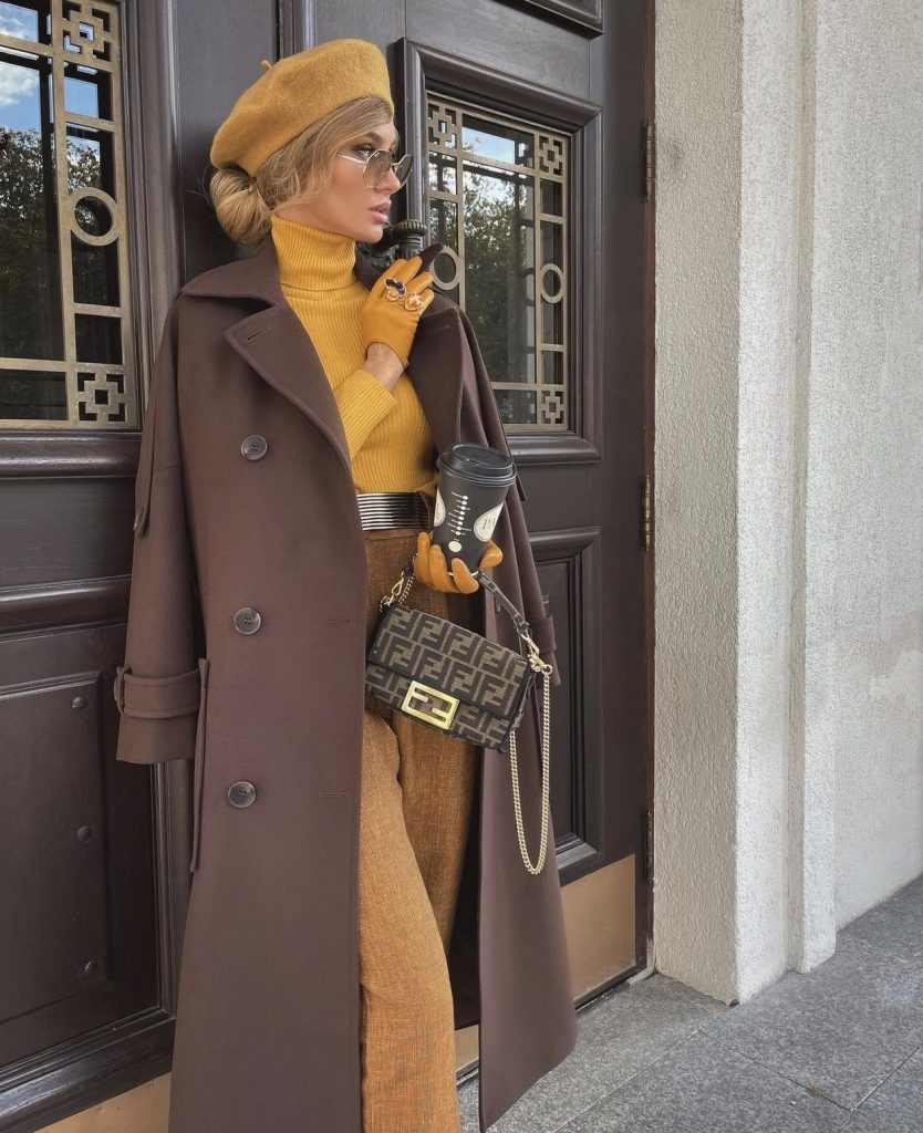 Victoria fox in an ideal stylish fall outfit
