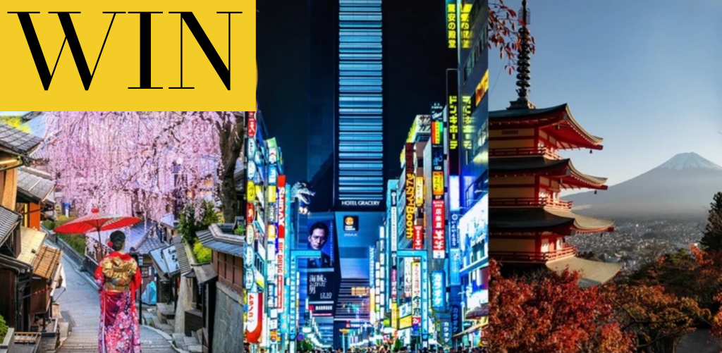 WIN a $40,000 Vacation in Japan Curated Just for You plus $5000 to shop