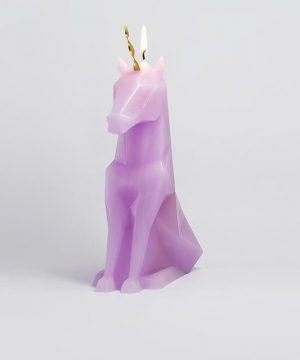 Adorable Unicorn Candle