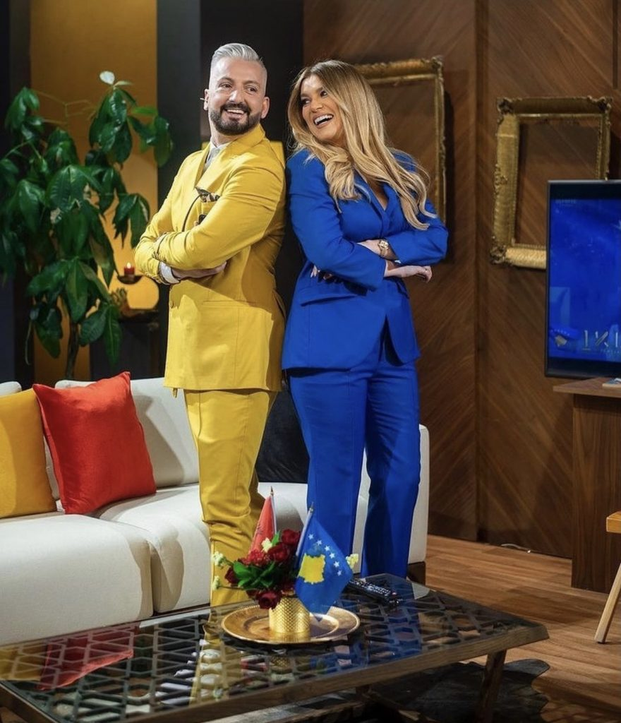 Custom his and hers fashion suit