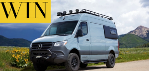 Win a Sprinter® Van with an $80,000 Eco-Friendly Conversion