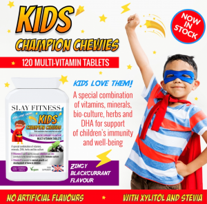 Kids' Champion Chewies Specialist Slay Fitness supplements