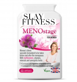 Menostage Specialist Slay Fitness supplements