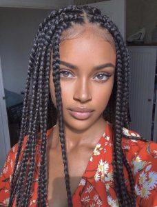 Luxury long jumbo braid synthetic wig