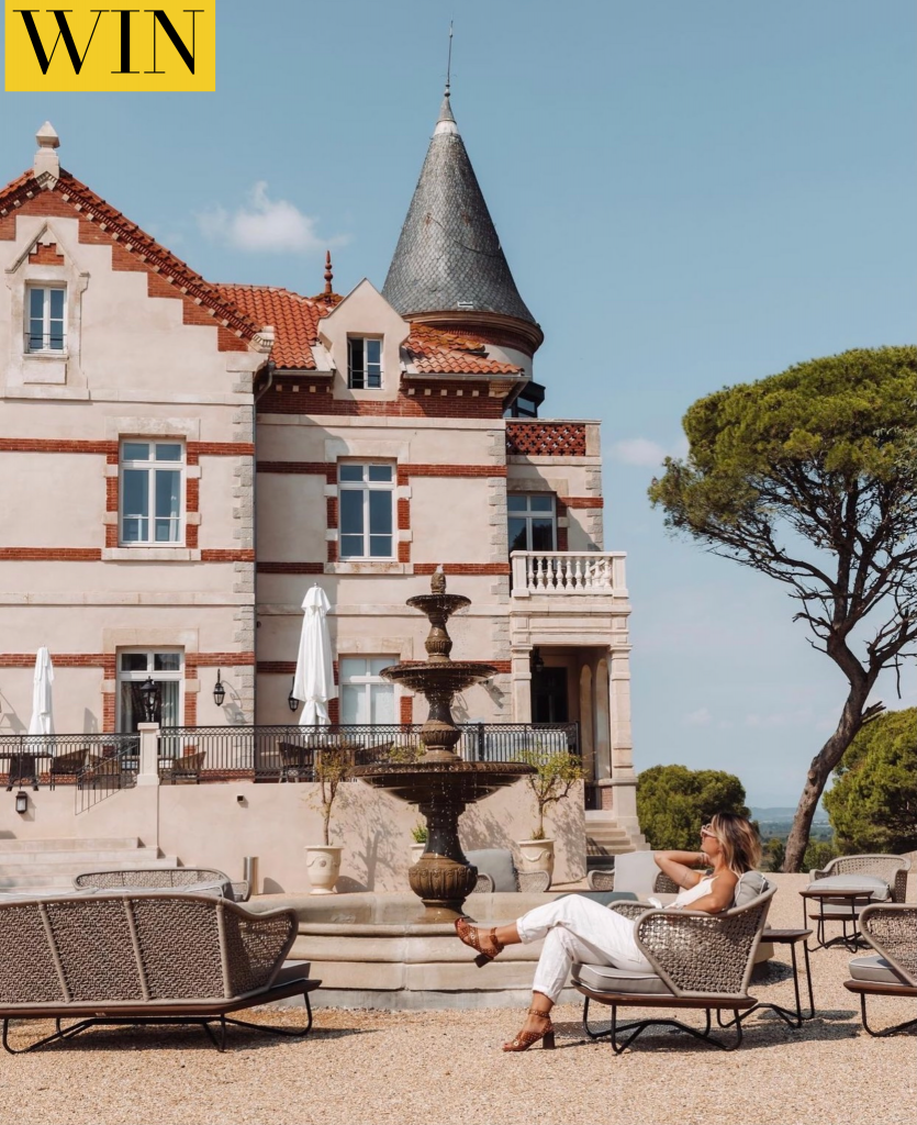 WIN a 2 night stay at a luxury hotel in Narbonne France