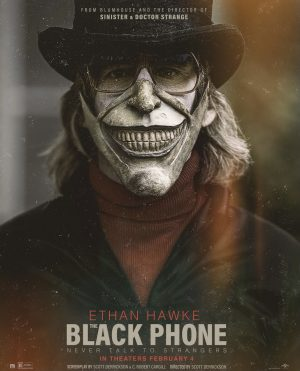 The black phone movie should have been out for Halloween