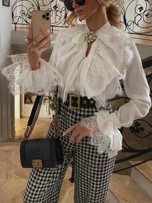 Victoria Fox in a trendy socialite fashion look