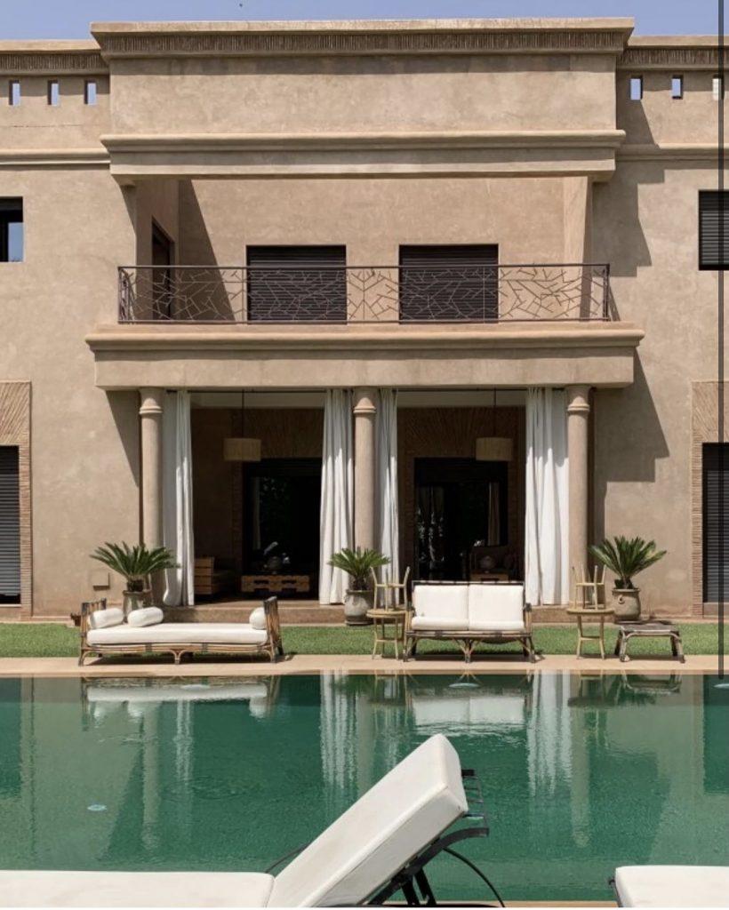Marrakech private villa FOR RENT
