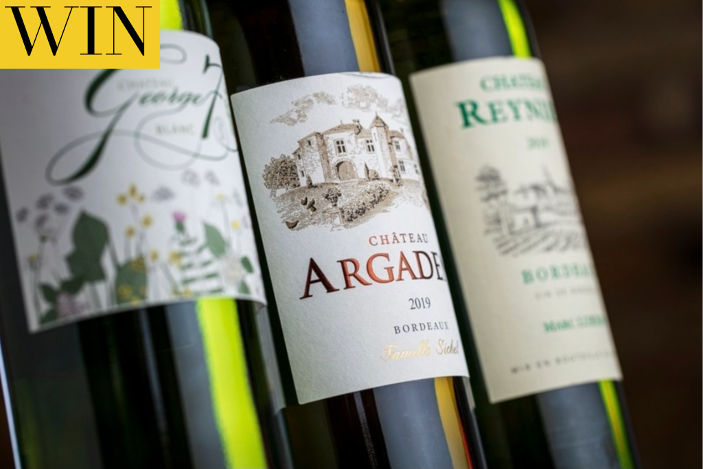 Win Dinner For Two And A case Of Bordeaux wine