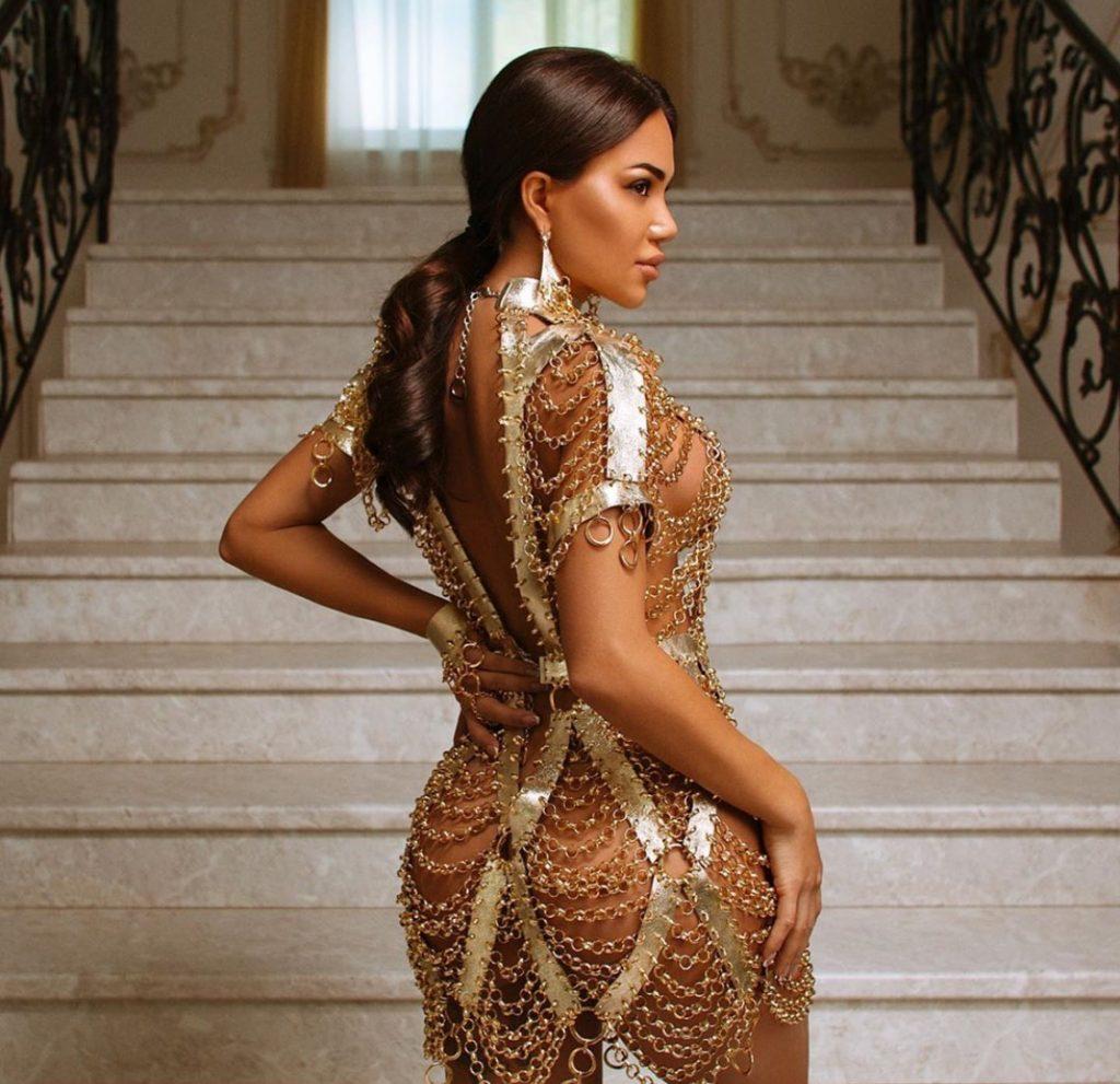Gold Chain Jewelry dress