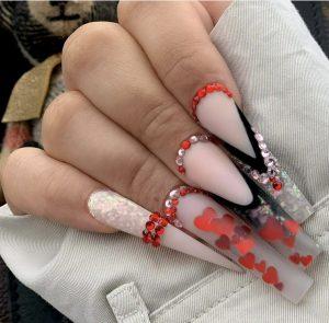 Luxury lavish embellished bling vibe  Press on Nails